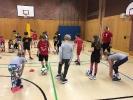 Fußballtraining mit dem DFB-Mobil