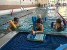 Schwimmen intensiv